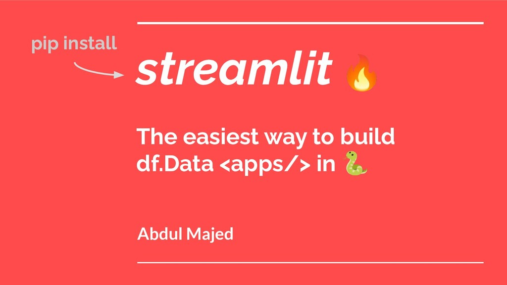 streamlit 🔥 The easiest way to build df.Data <a...