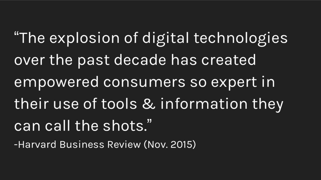 """""""The explosion of digital technologies over the..."""
