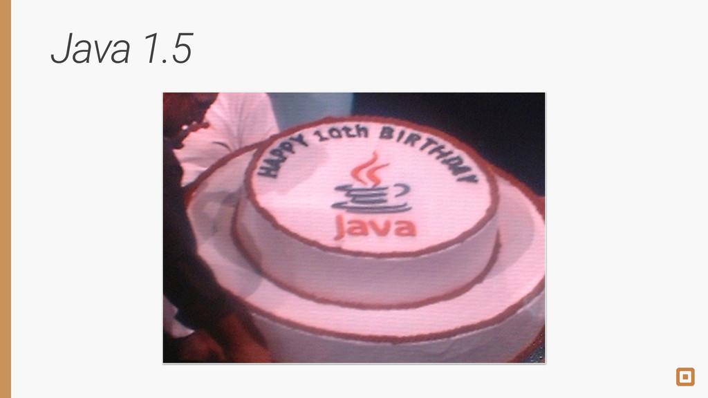 Java 1.5