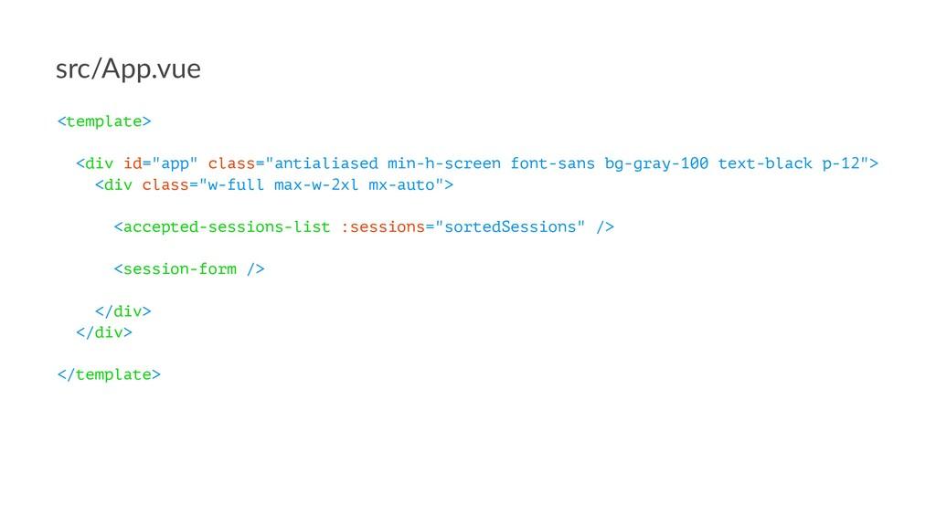 "src/App.vue <template> <div id=""app"" class=""ant..."