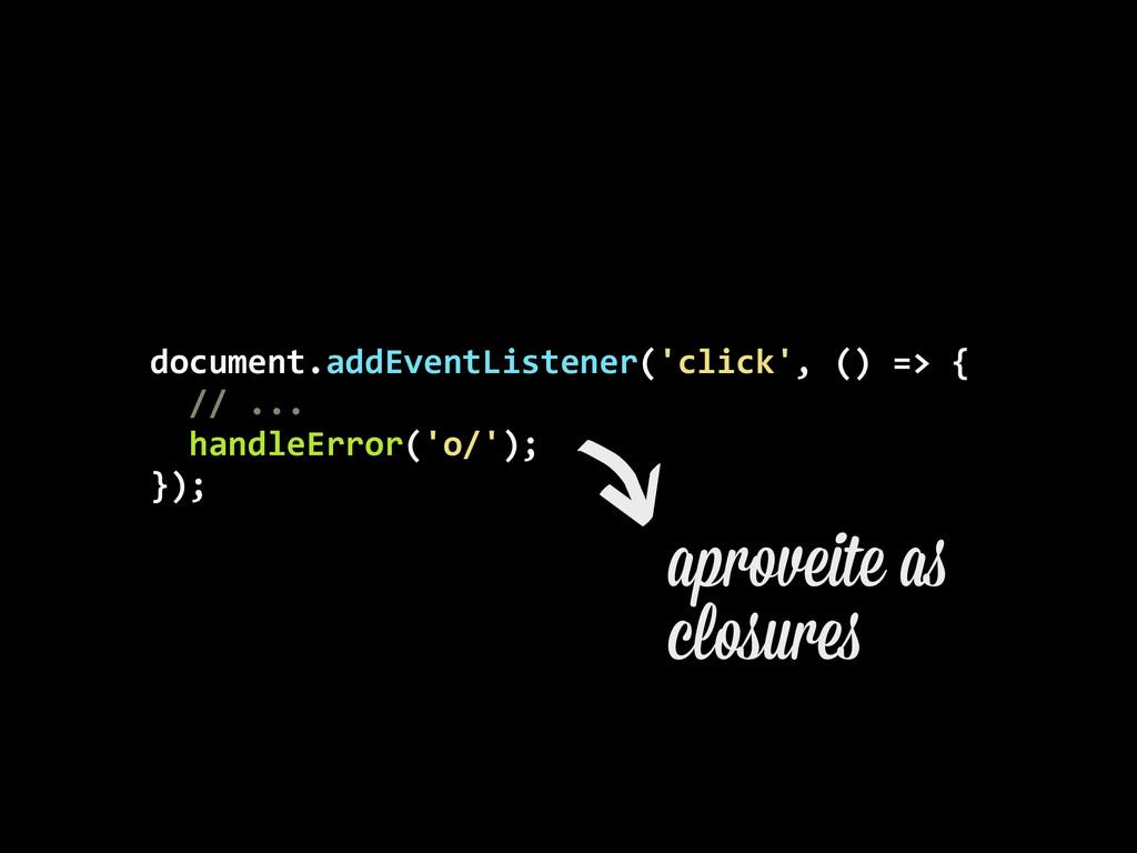 document.addEventListener('click', () =>...
