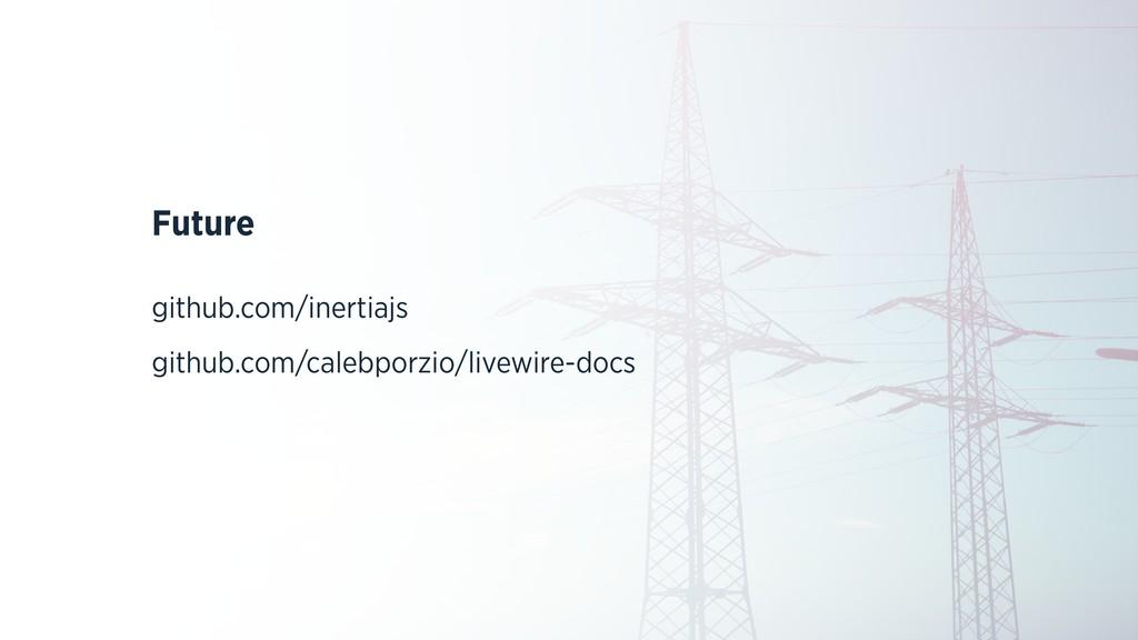 Future github.com/inertiajs github.com/calebpor...