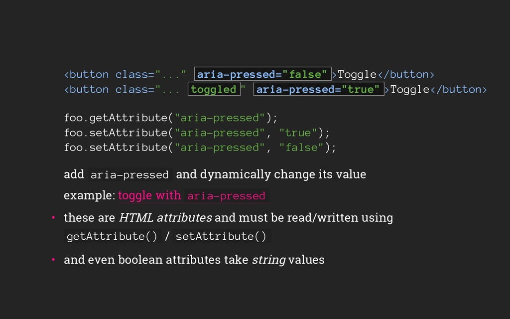 "<button class=""..."" aria-pressed=""false"" >Toggl..."