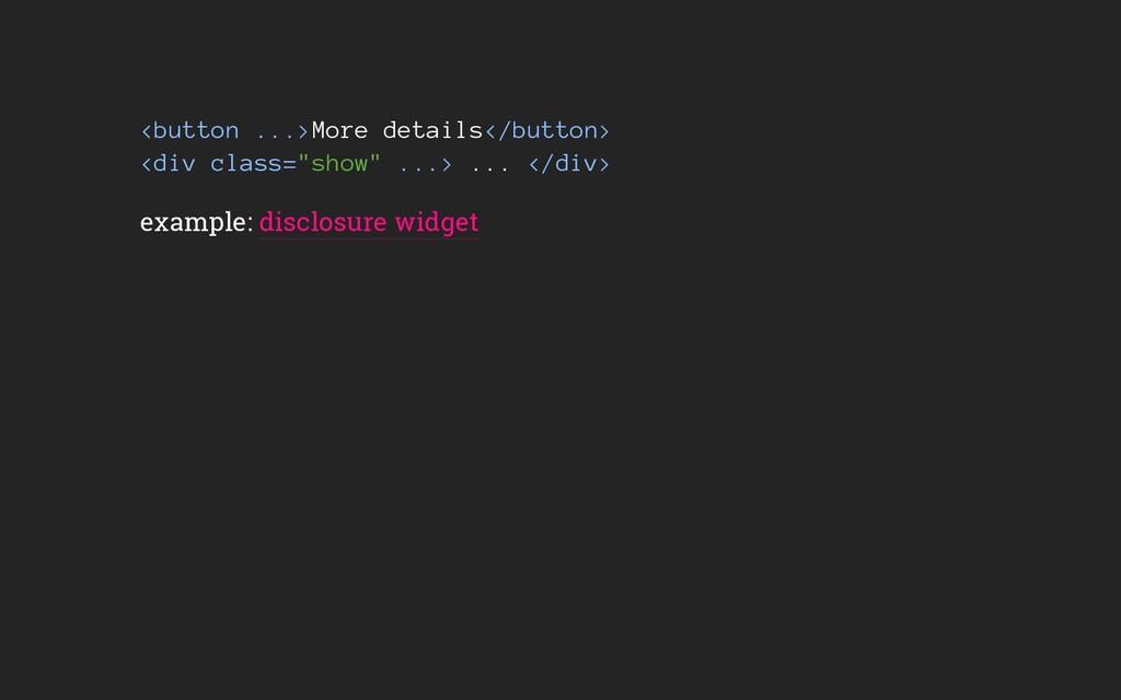 """<button ...>More details</button> <div class=""""s..."""