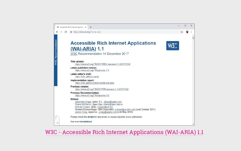 W3C - Accessible Rich Internet Applications (WA...