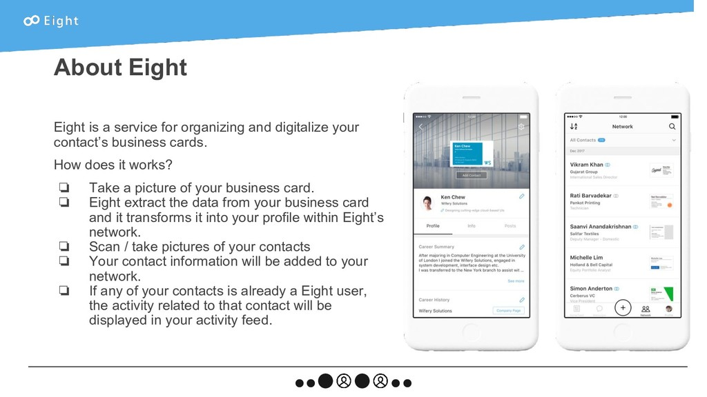 Eight is a service for organizing and digitaliz...