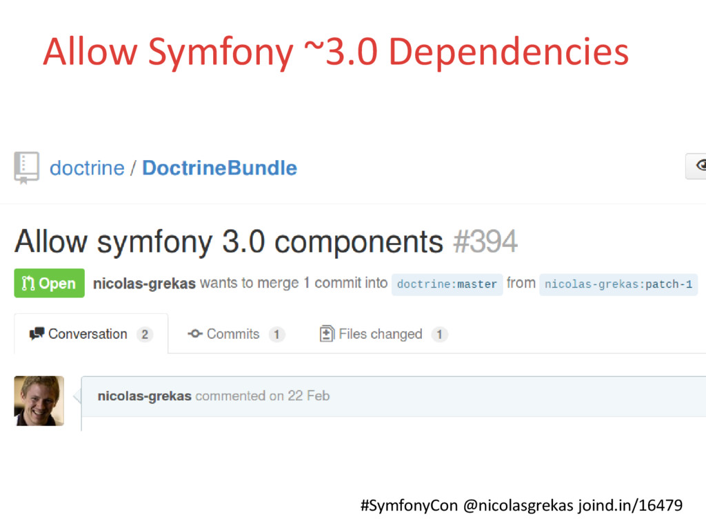 #SymfonyCon @nicolasgrekas joind.in/16479 Allow...