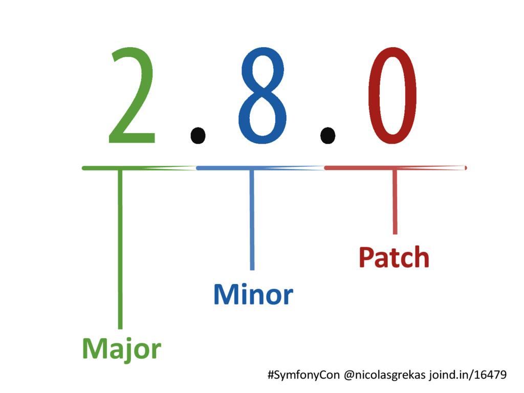 #SymfonyCon @nicolasgrekas joind.in/16479 Major...