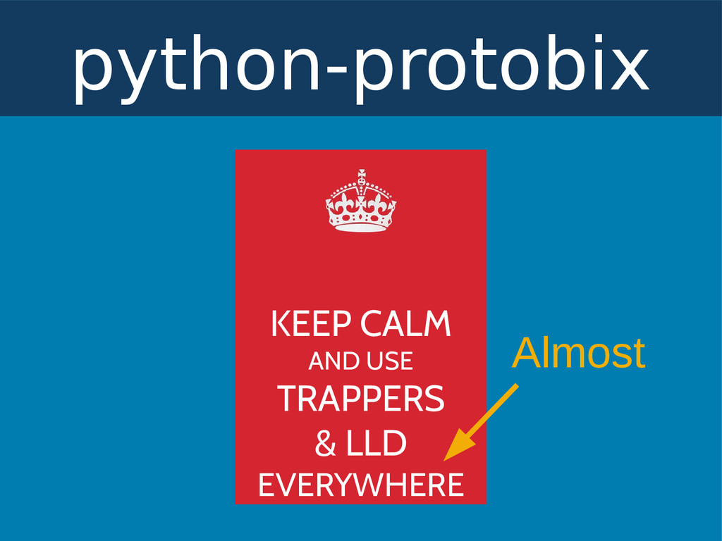 python-protobix KEEP CALM AND USE TRAPPERS & LL...