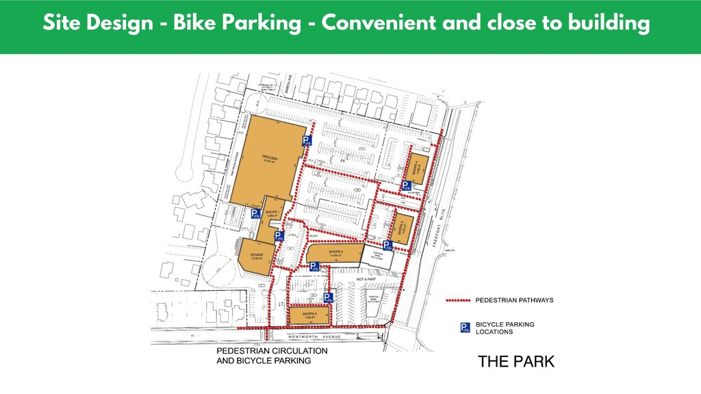 Site Design - Bike Parking - Convenient and clo...