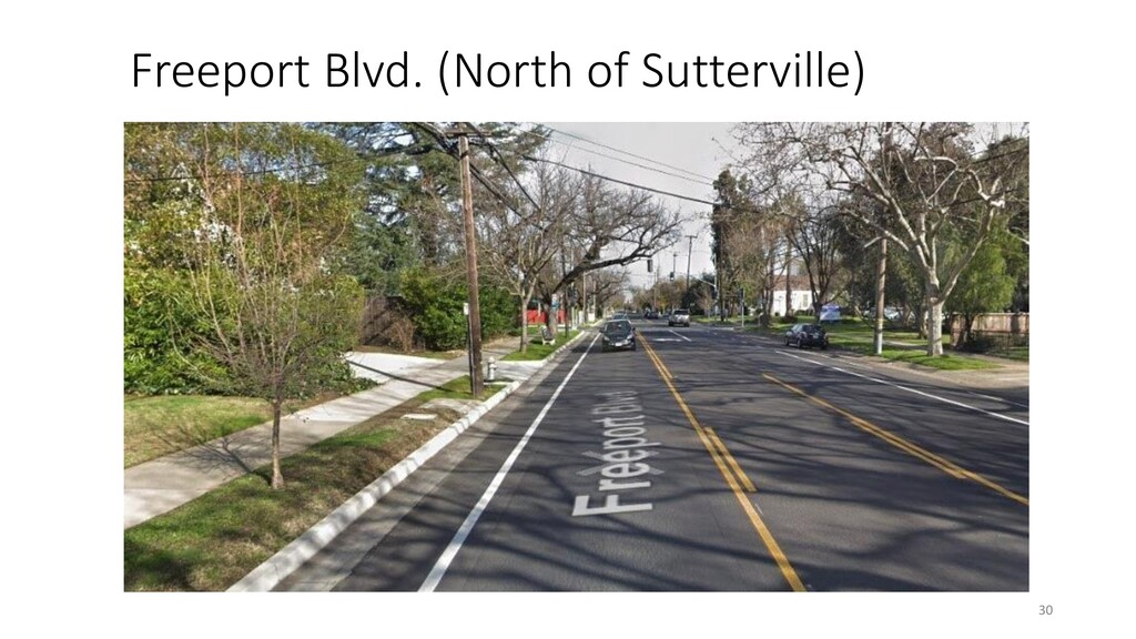Freeport Blvd. (North of Sutterville) 30
