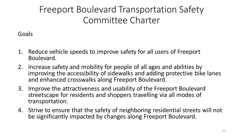 Freeport Boulevard Transportation Safety Commit...