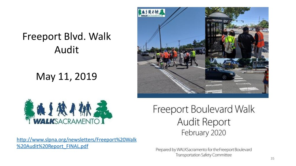 35 Freeport Blvd. Walk Audit May 11, 2019 http:...