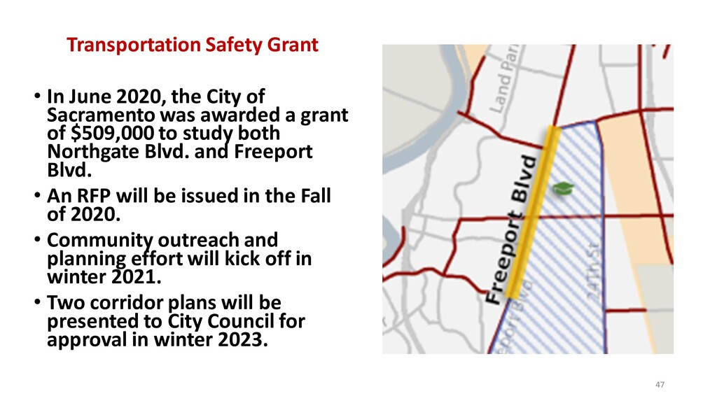 Transportation Safety Grant • In June 2020, the...