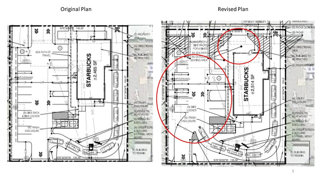 Original Plan Revised Plan 5