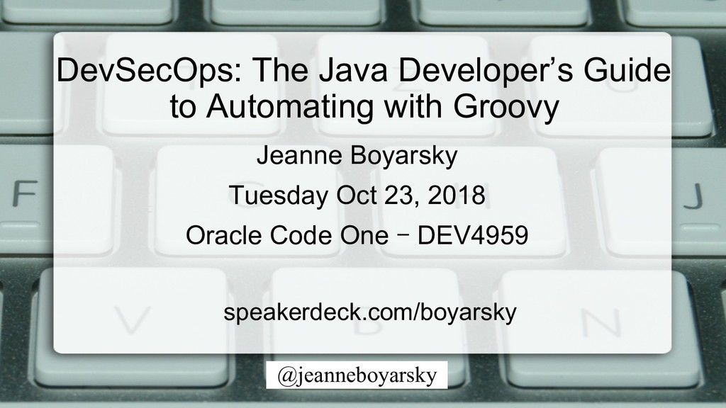 @jeanneboyarsky Jeanne Boyarsky Tuesday Oct 23,...