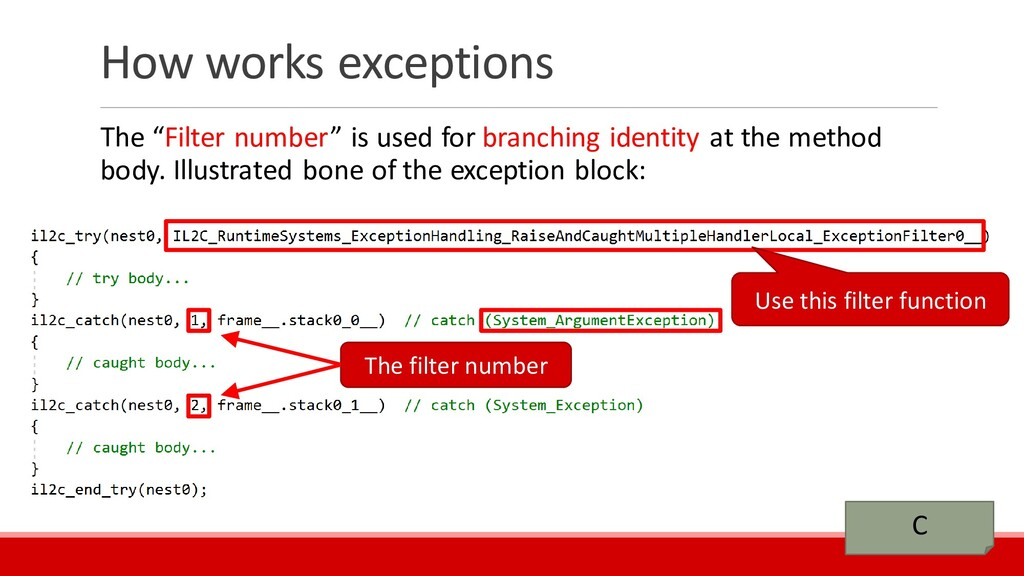 """How works exceptions The """"Filter number"""" is use..."""