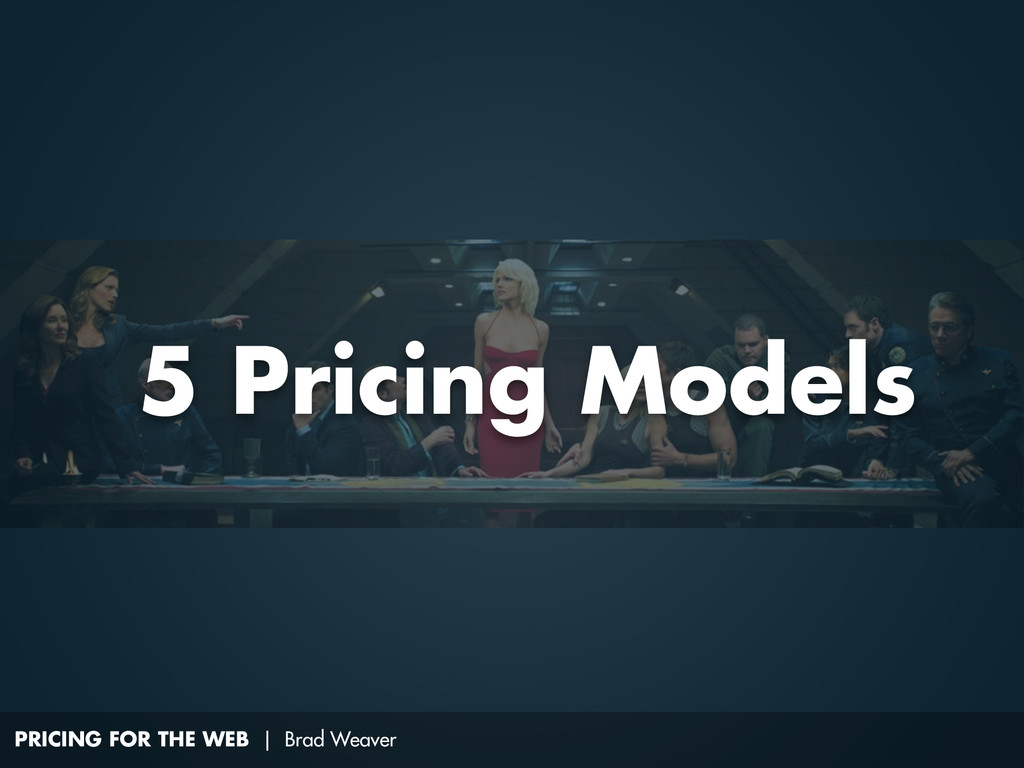 PRICING FOR THE WEB | Brad Weaver 5 Pricing Mod...