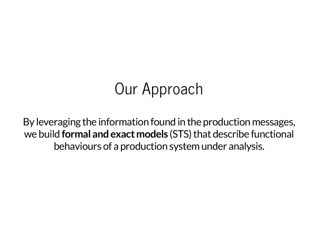 Our Approach By leveraging the information foun...