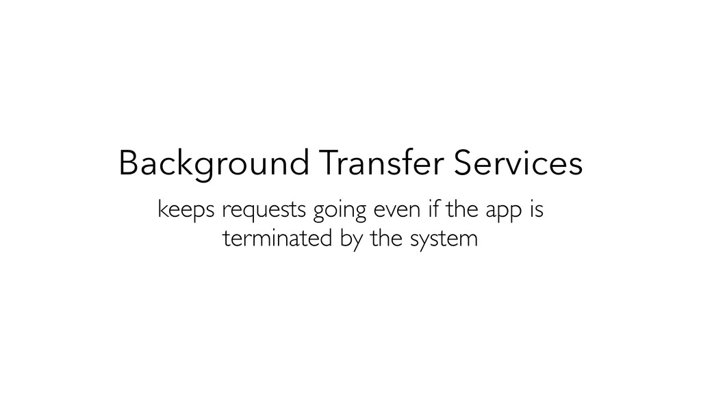 Background Transfer Services keeps requests goi...