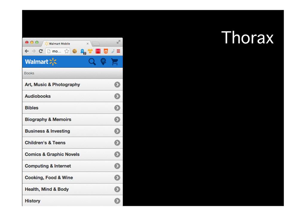 Thorax�