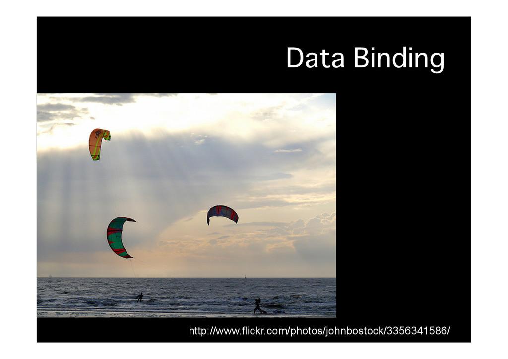 Data Binding� http://www.flickr.com/photos/john...