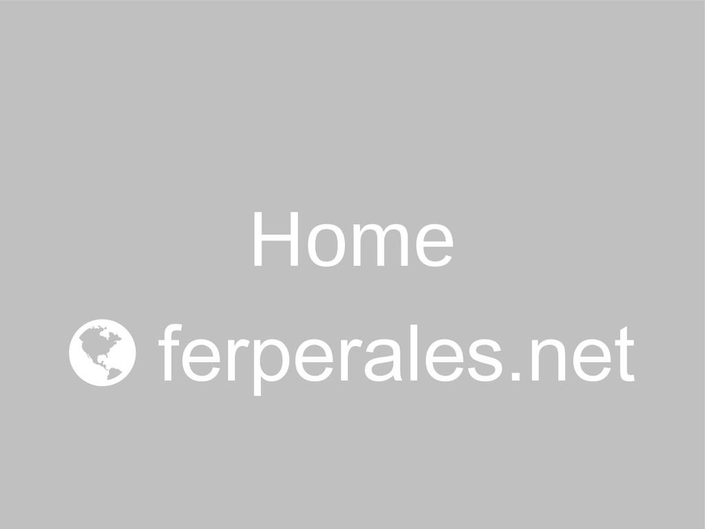 Home  ferperales.net