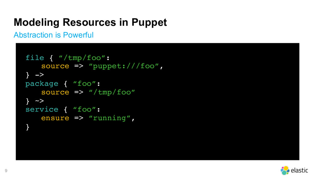 9 Modeling Resources in Puppet Abstraction is P...