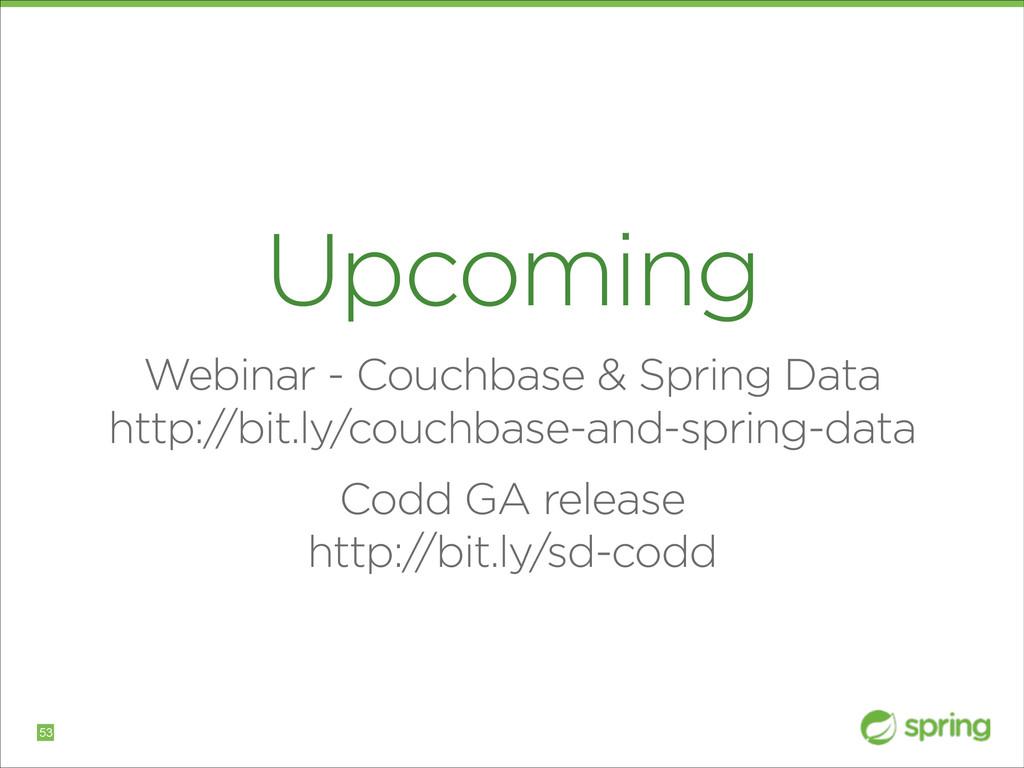 Upcoming Webinar - Couchbase & Spring Data htt...