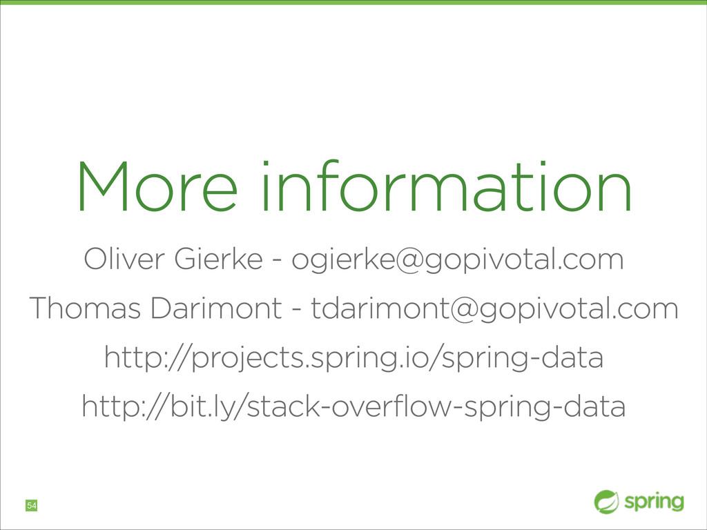 More information Oliver Gierke - ogierke@gopivo...