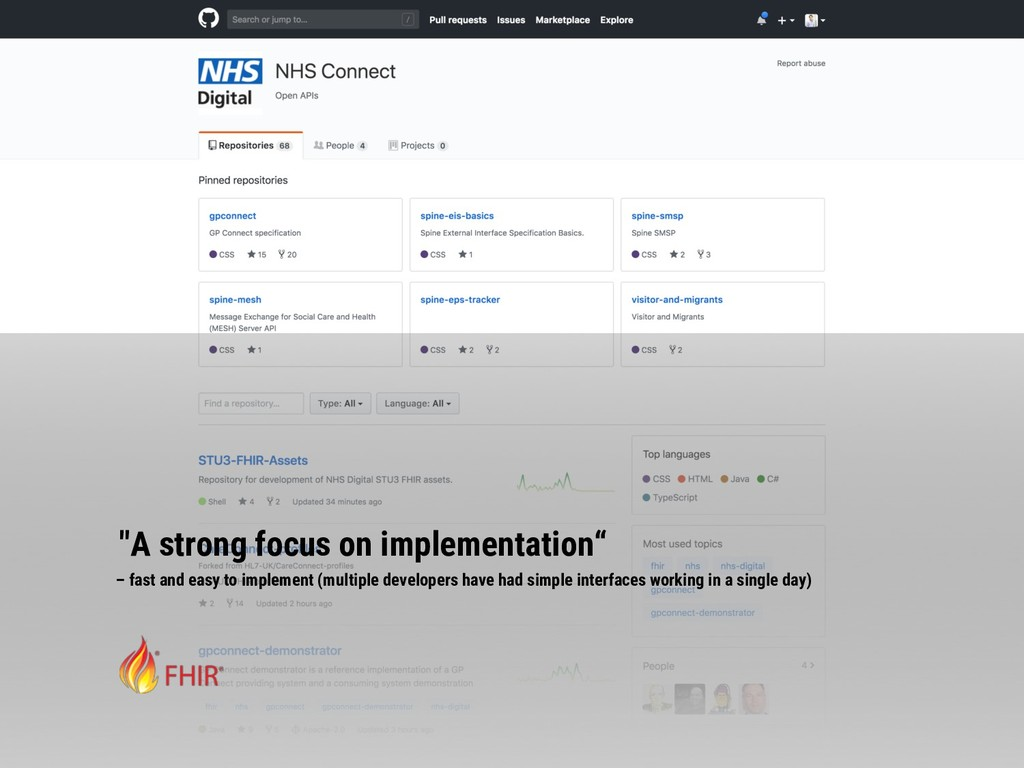 """""""A strong focus on implementation"""" – fast and e..."""
