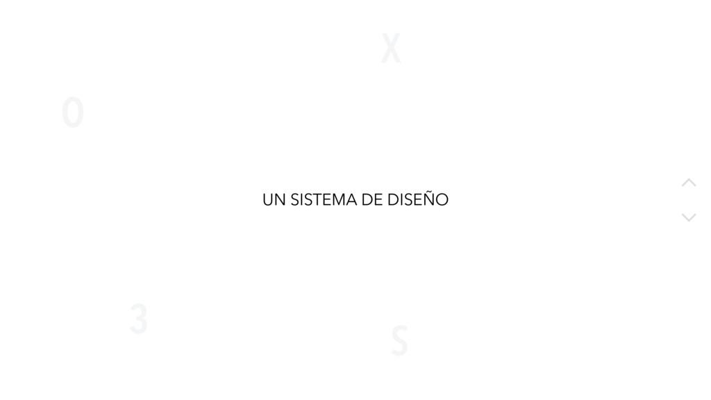 X O S 3 20 UN SISTEMA DE DISEÑO