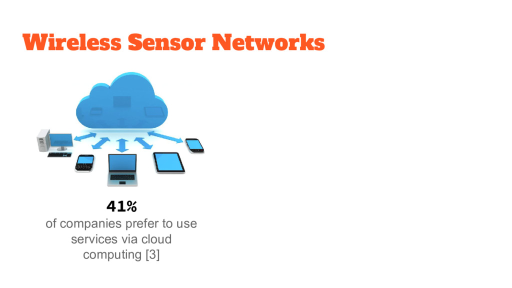 41% of companies prefer to use services via clo...