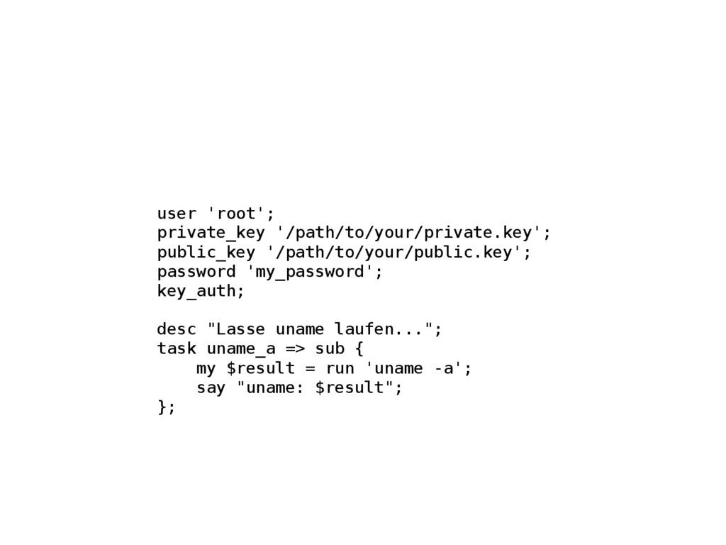 user 'root'; private_key '/path/to/your/private...