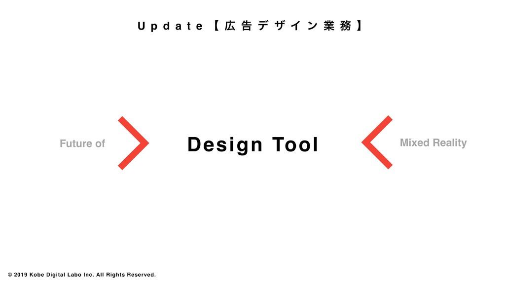 Design Tool Future of Mixed Reality © 2019 Kobe...