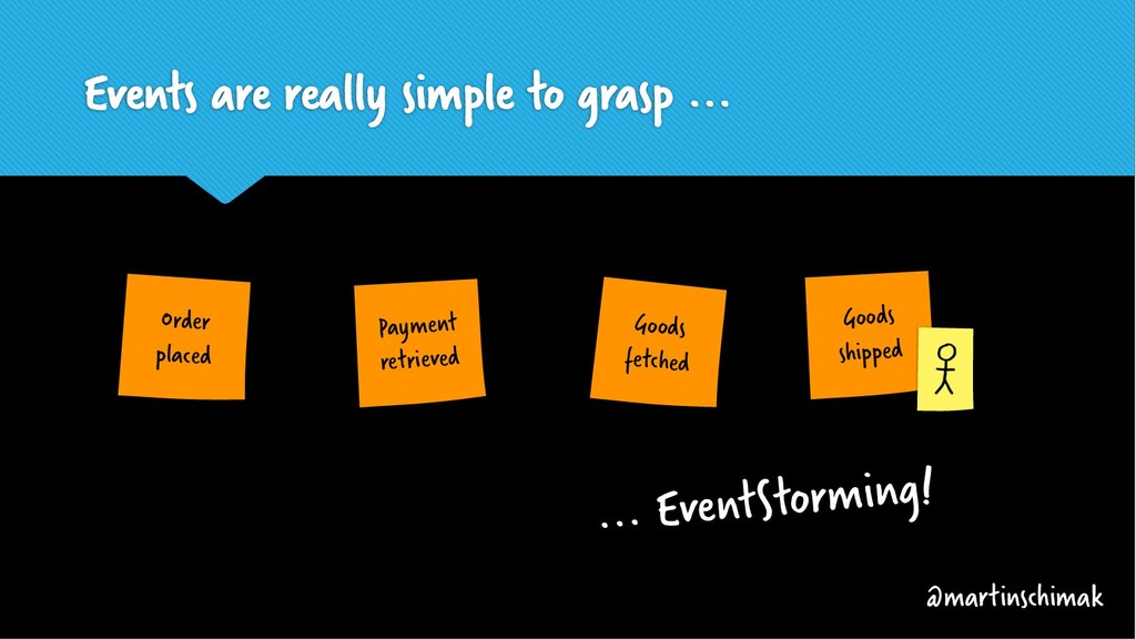 Events are really simple to grasp ... Goods shi...