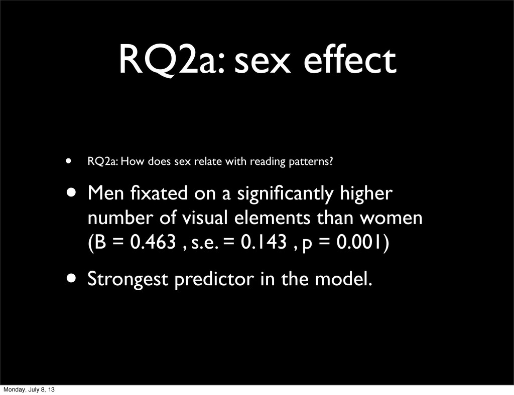 RQ2a: sex effect • RQ2a: How does sex relate wi...