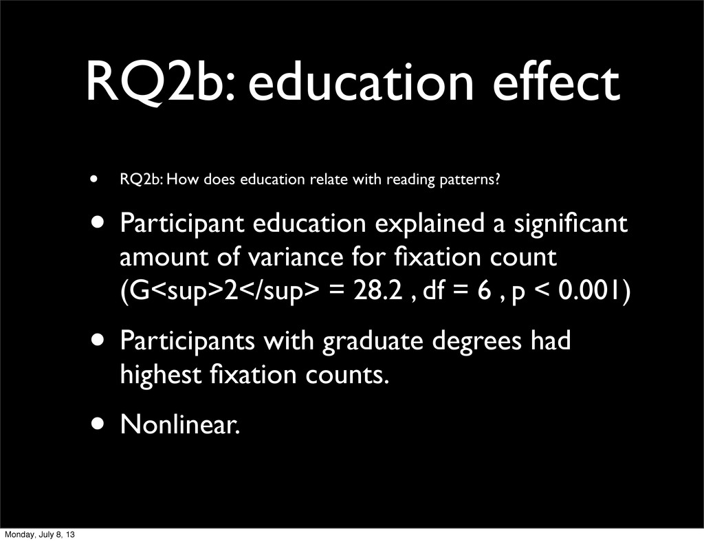 RQ2b: education effect • RQ2b: How does educati...