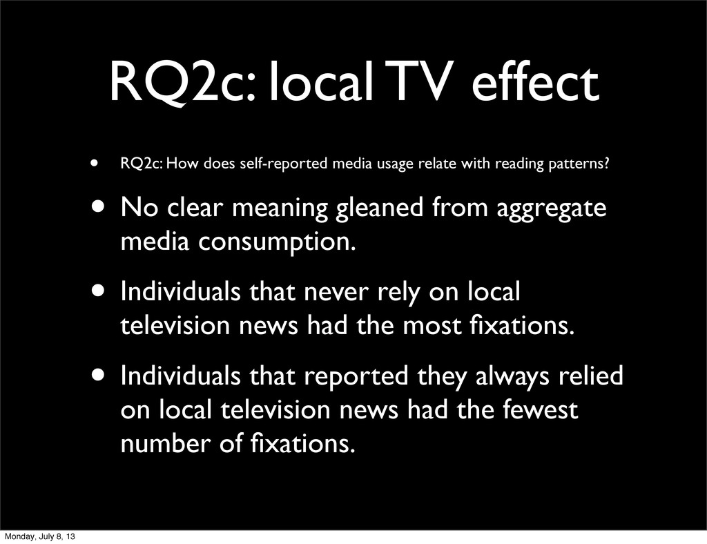 RQ2c: local TV effect • RQ2c: How does self-rep...