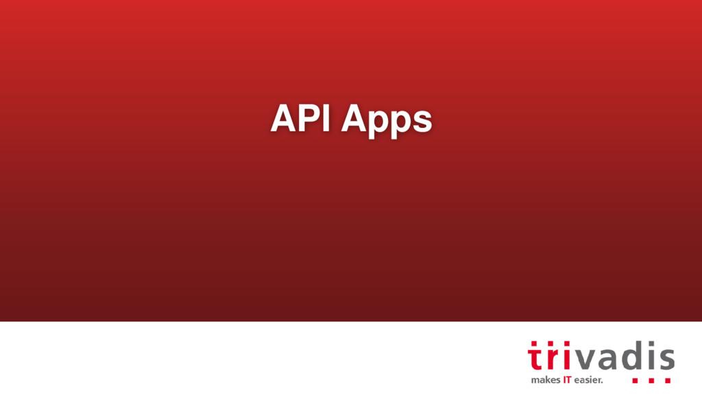 API Apps