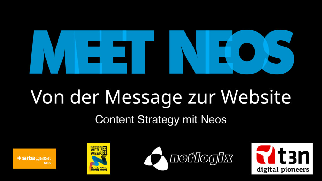 Von der Message zur Website Content Strategy mi...