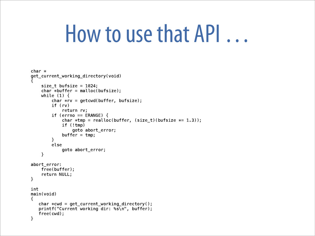 How to use that API … char * get_current_workin...