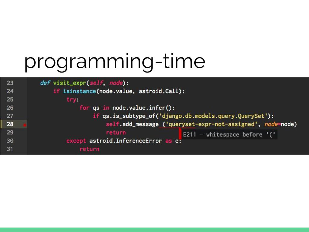 programming-time