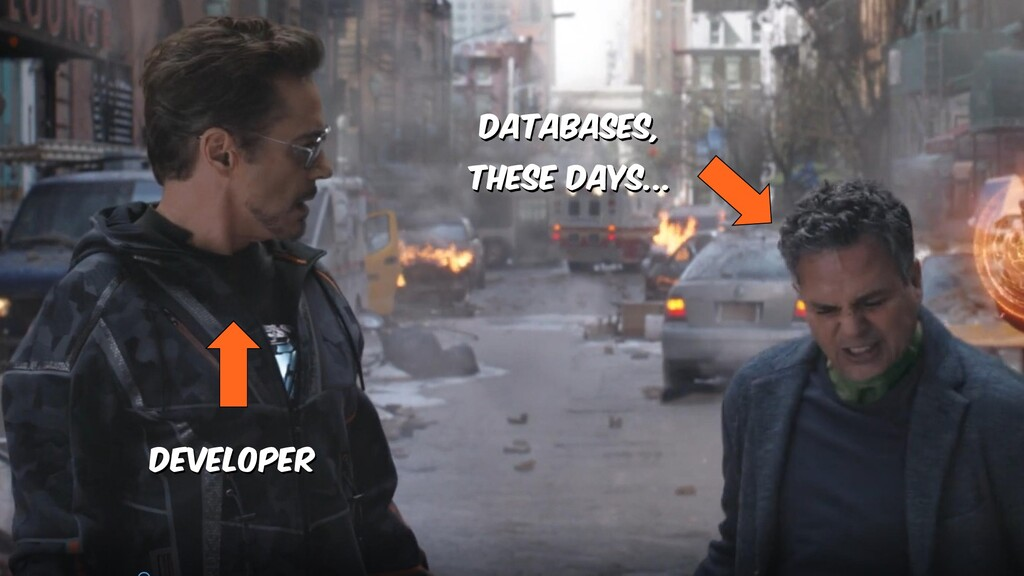 Developer Databases, these days...