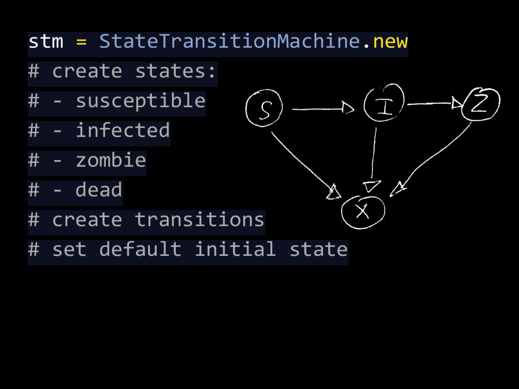 stm = StateTransitionMachine.new # create state...