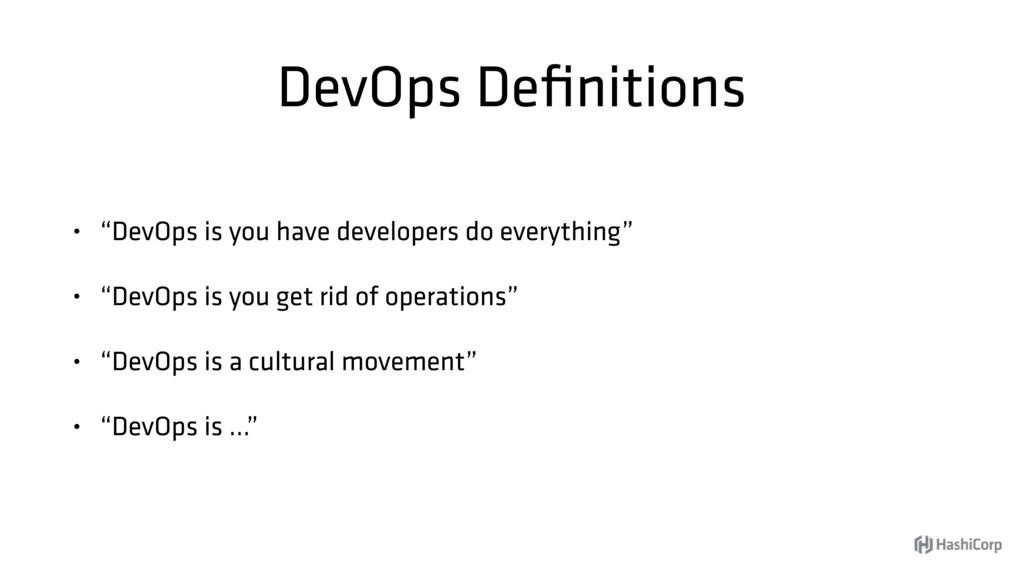 """DevOps Definitions • """"DevOps is you have develop..."""