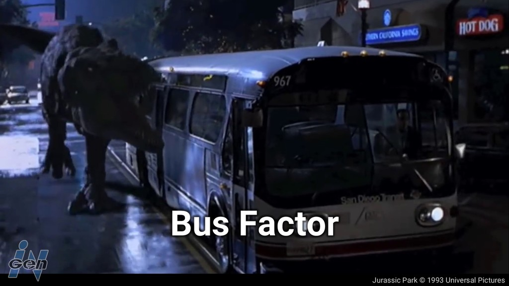 Jurassic Park © 1993 Universal Pictures Bus Fac...