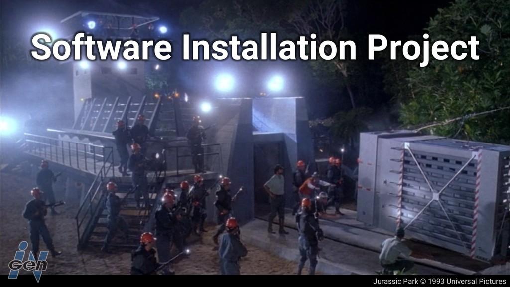 Jurassic Park © 1993 Universal Pictures Softwar...