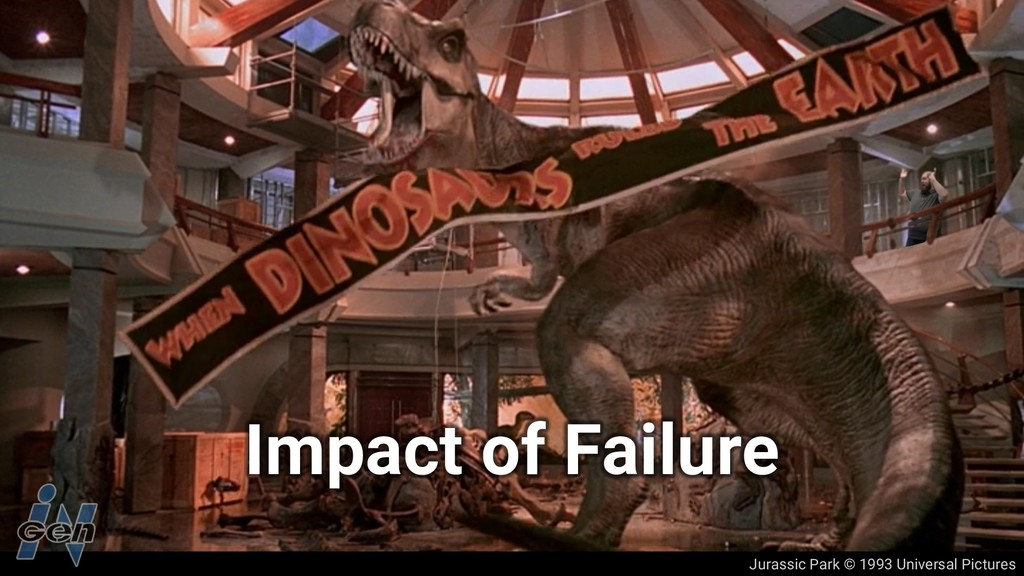 Jurassic Park © 1993 Universal Pictures Impact ...