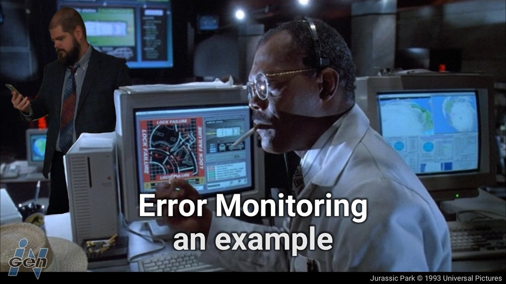 Jurassic Park © 1993 Universal Pictures Error M...